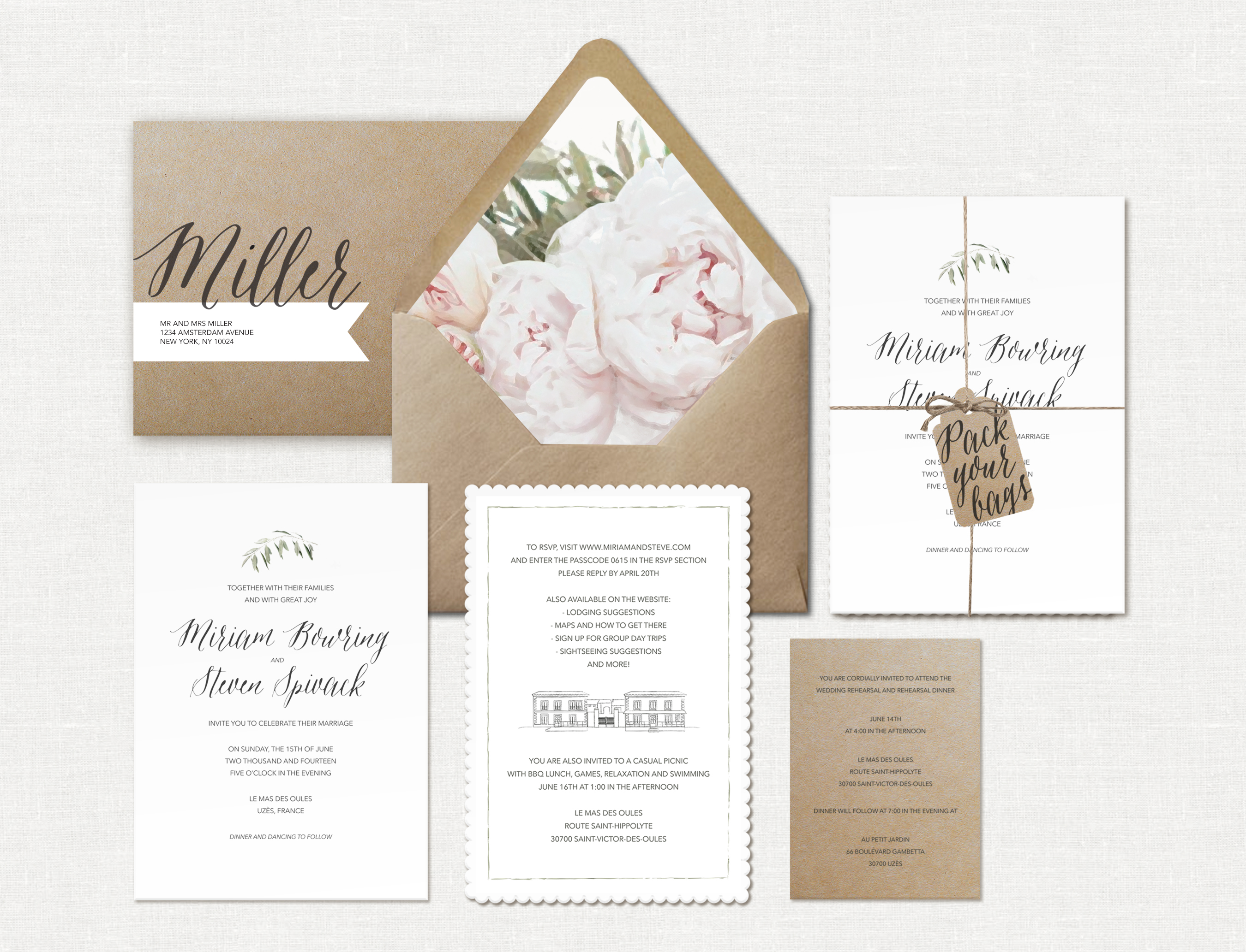 Wedding Suite Miriam Spivack